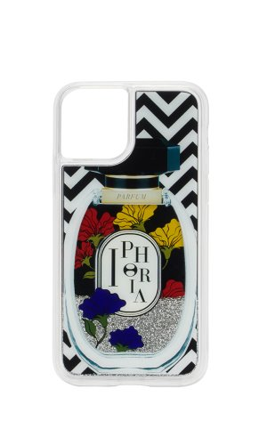 IPHORIA[11PRO]PERFUME BLACK WHITE COLORFUL