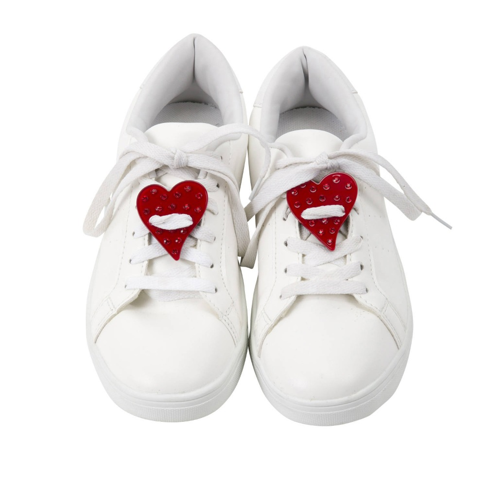 HEARTS RED SNEAKER PATCH