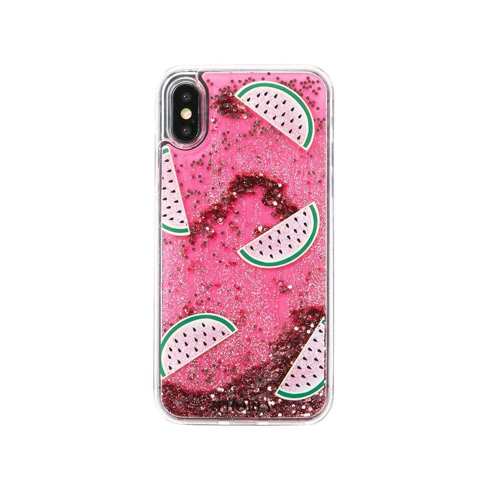 MELON GLITTER GOLD X/XS CASE