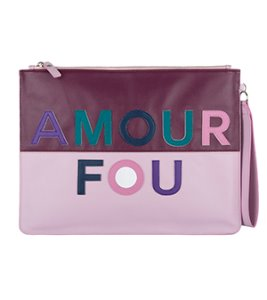 AMOUR FOU MIRROR CLUTCH