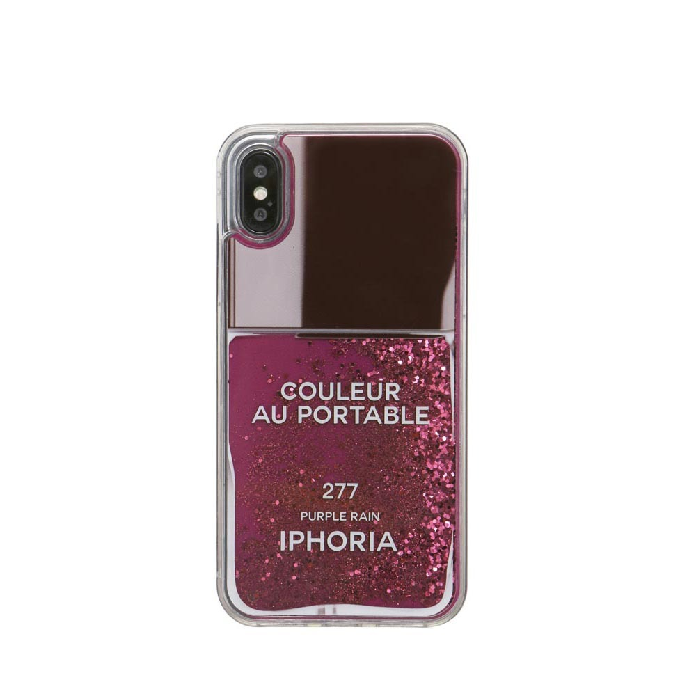 NAILPOLISH PURPLE iPhone XR CASE