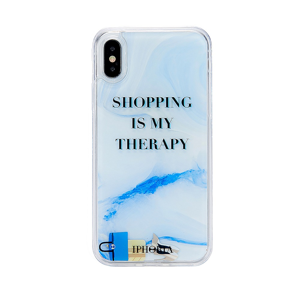 [SAMPLE] SHOPPING IS MY THERAPY X/XS CASE