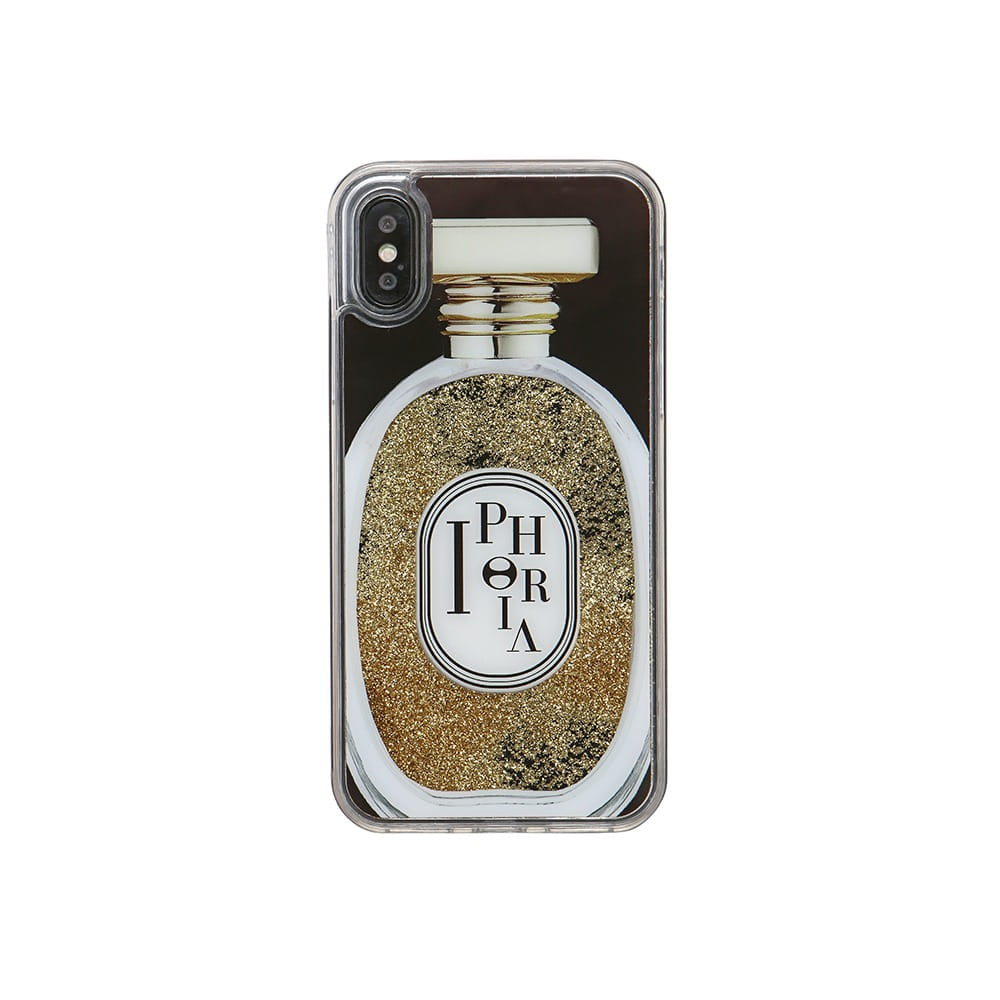 PERFUME ROUND BLACK iPhone XR CASE