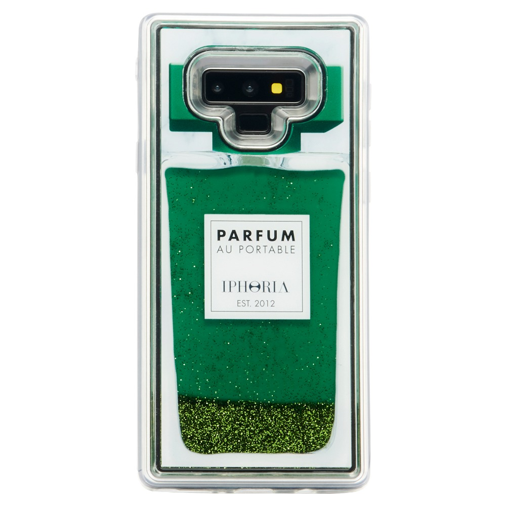 LIQUID PERFUME GREEN NOTE 9 CASE