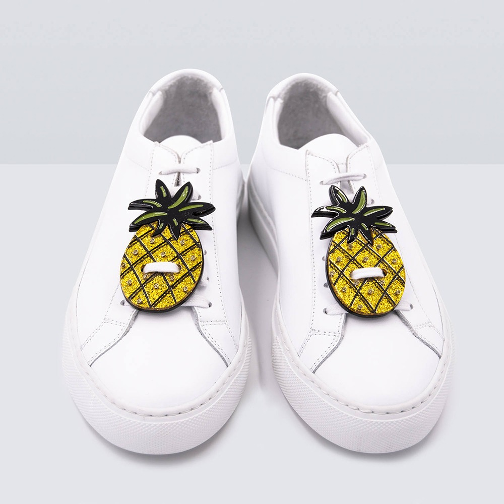 PINEAPPLE GLITTER SNEAKER PATCH