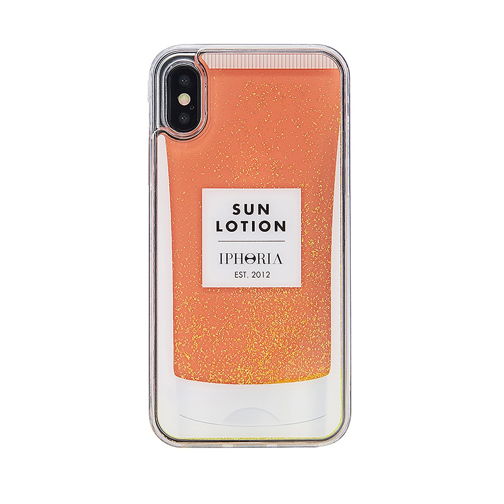 GLITTER SUN LOTION CLASSIC CREAM iPhone X/XS CASE