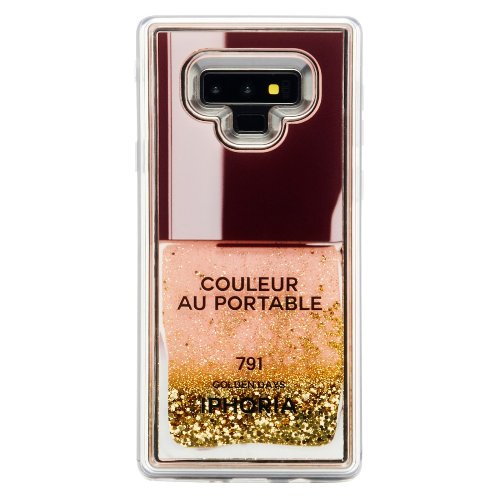 LIQUID NAILPOLISH GOLD LIGHT NOTE 9 CASE