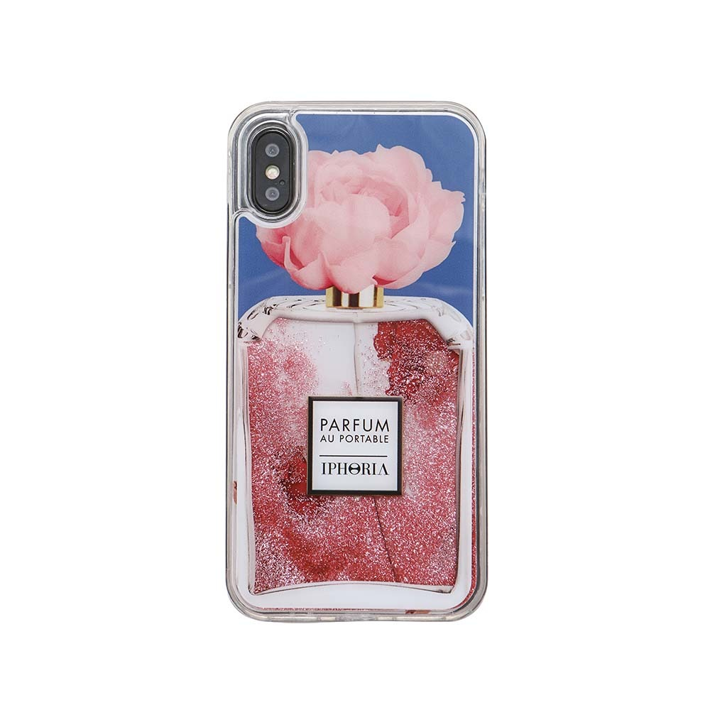 PERFUME FLOWER BLUE iPhone XS MAX CASE