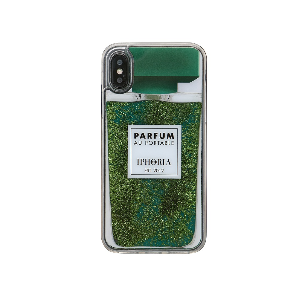 PERFUME GREEN iPhone XR CASE