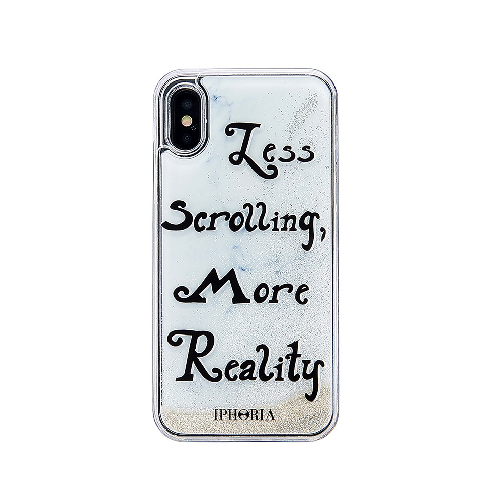LESS SCROLLING MORE REALITY X/XS CASE