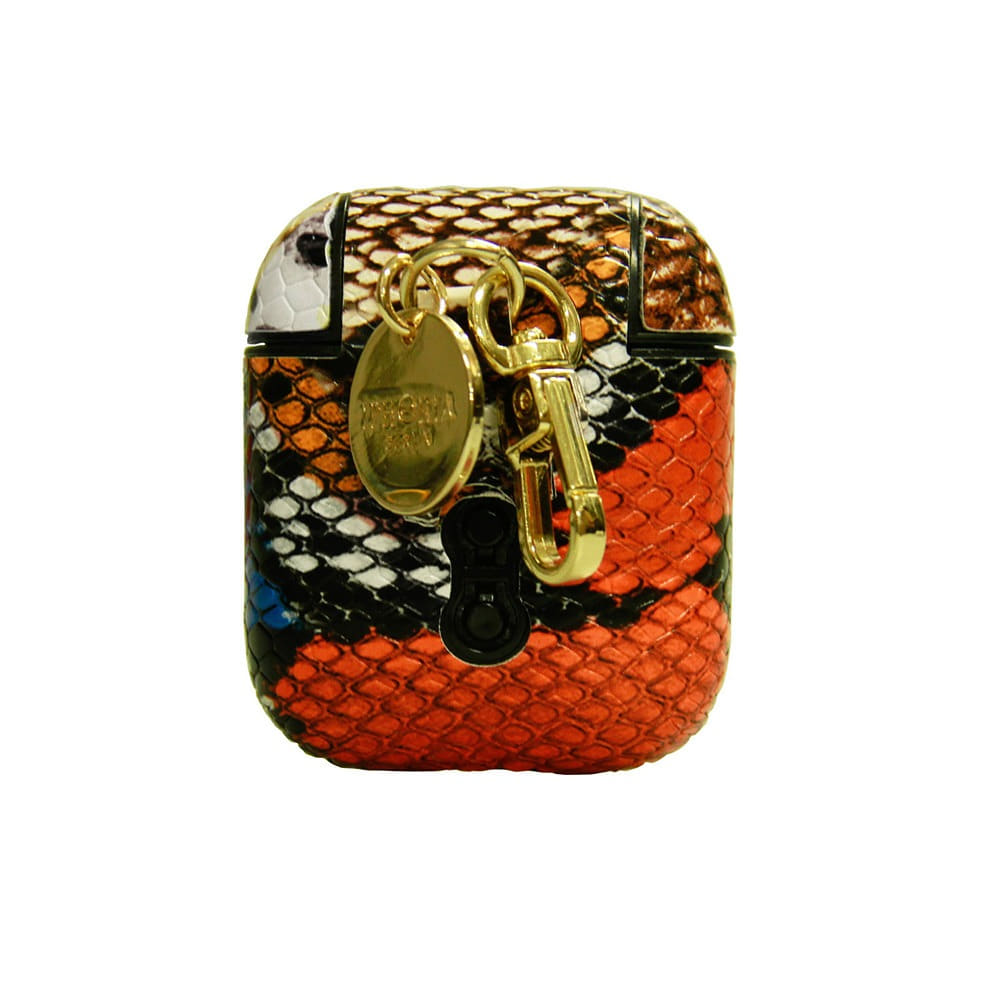 WILD SNAKE PRINT AIRPODS CASE