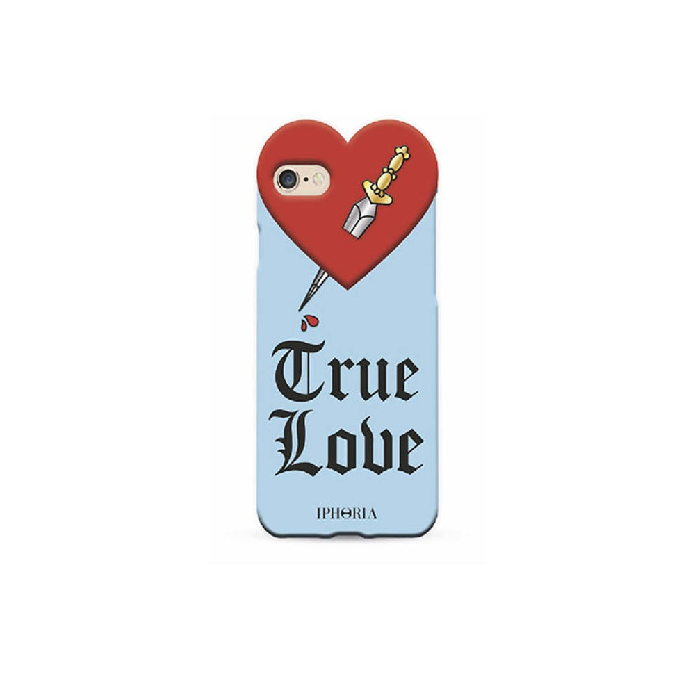 HEART TRUE LOVE BLUE iPhone 7/8/SE2 CASE