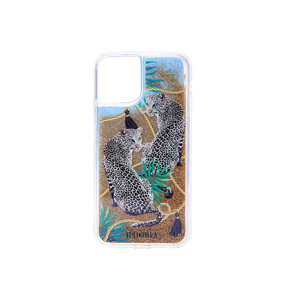 BLUE LEOPARDS LIQUID iPhone 11 PRO CASE