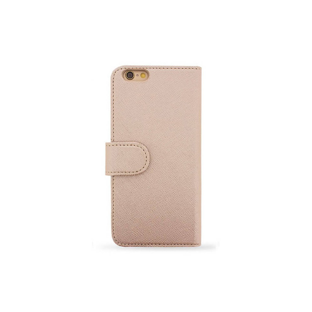 ROSE GOLD SAFFIANO FOLIO iPhone 7/8/SE2 CASE
