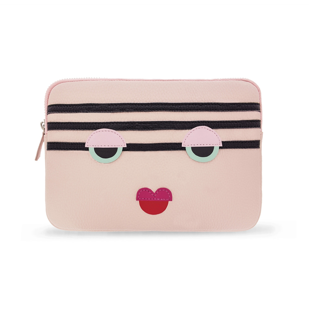 MONSTER CHARGE PINK CLUTCH