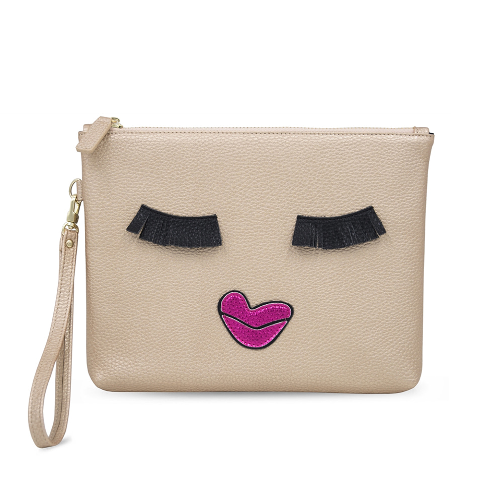 KISS ME MONSTER COSMETIC BAG