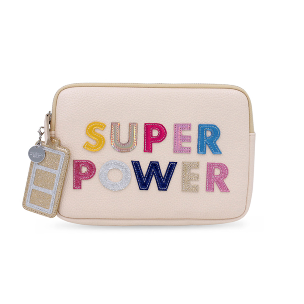 SUPER POWER PINK CLUTCH