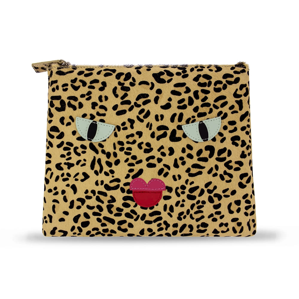 COSMATIC ANGRY LEOPARD CLUTCH