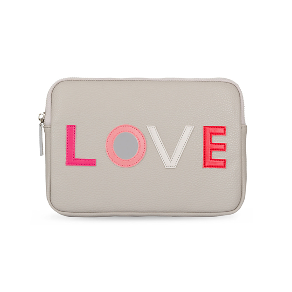 GREY LOVE ME CLUTCH