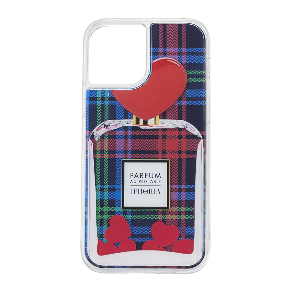 TARTAN HEART PERFUME LIQUID iPhone 12 PRO/12 CASE