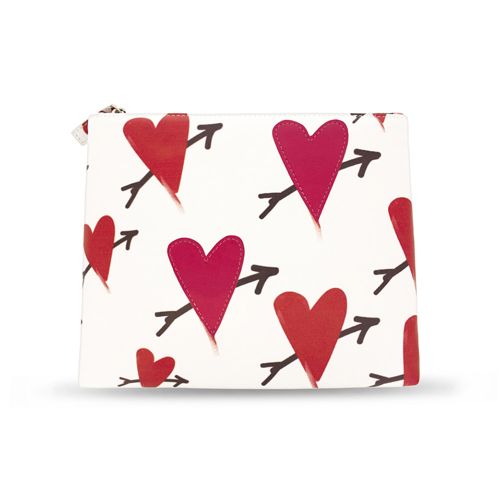 RED HEART POINT CLUTCH