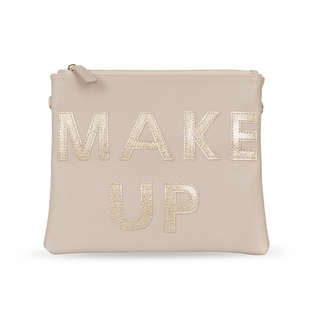 ROSE GOLD MAKE UP CLUTCH